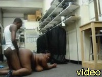 hot blacks fucking at work